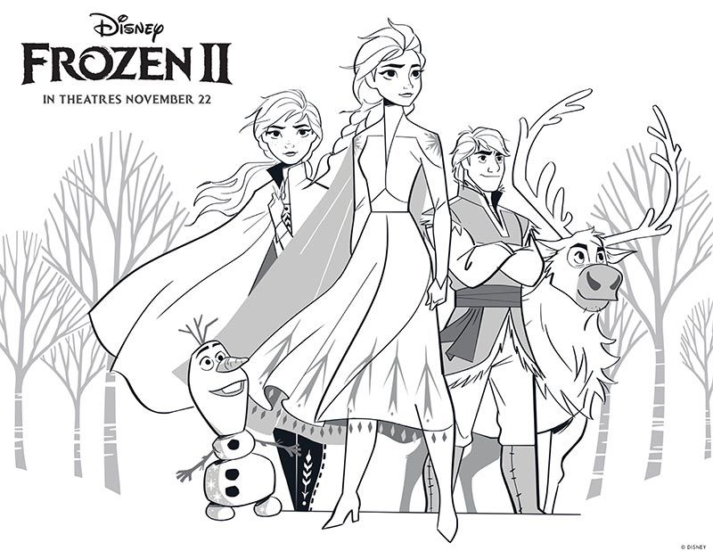 Love Disney S Frozen Movie Get Ready For The Sequel Frozen 2 With These Fun Printable Activities T Elsa Coloring Pages Disney Coloring Pages Frozen Coloring
