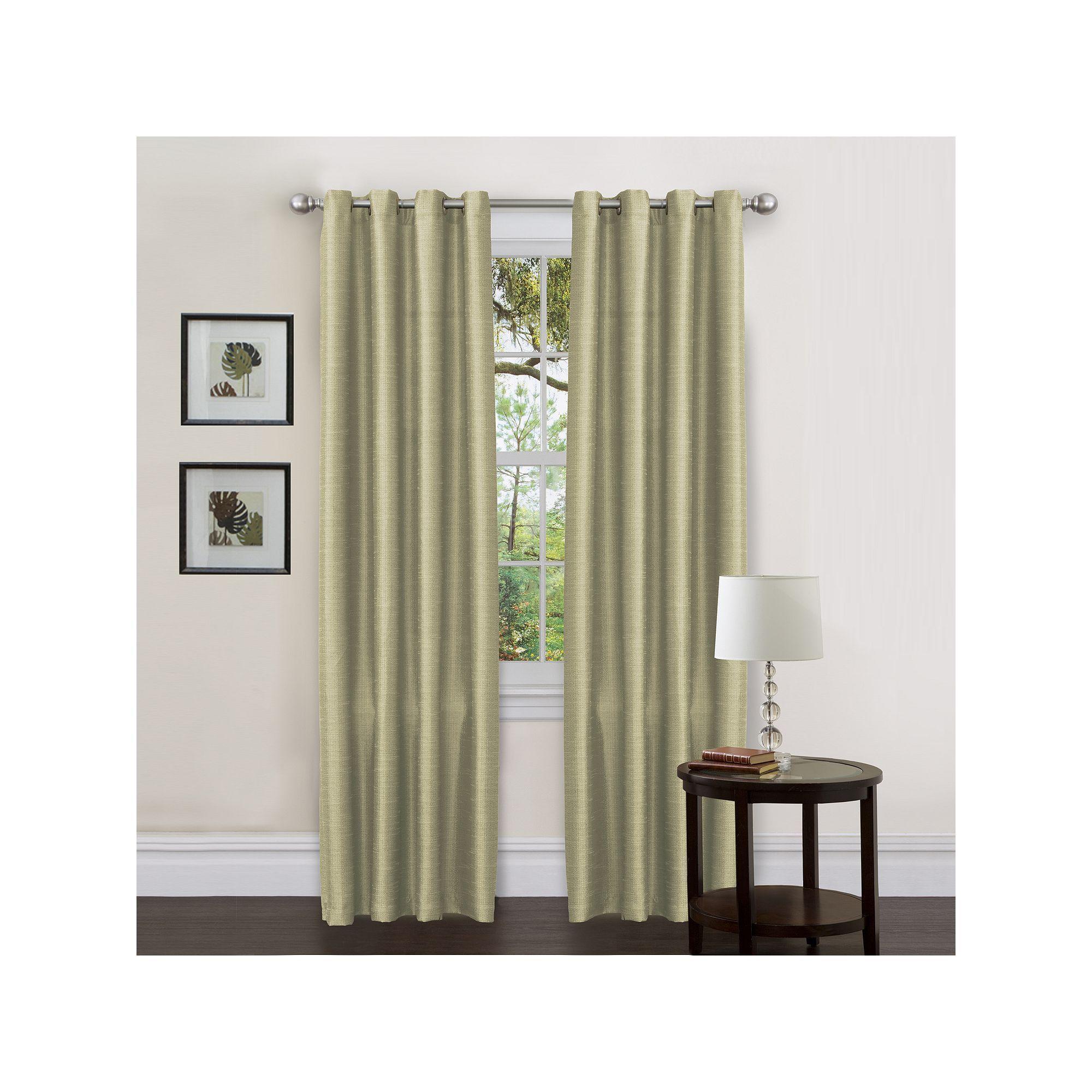 Lush Decor 1 Panel Felicity Window Panel Drapes Curtains Decor Green Curtains