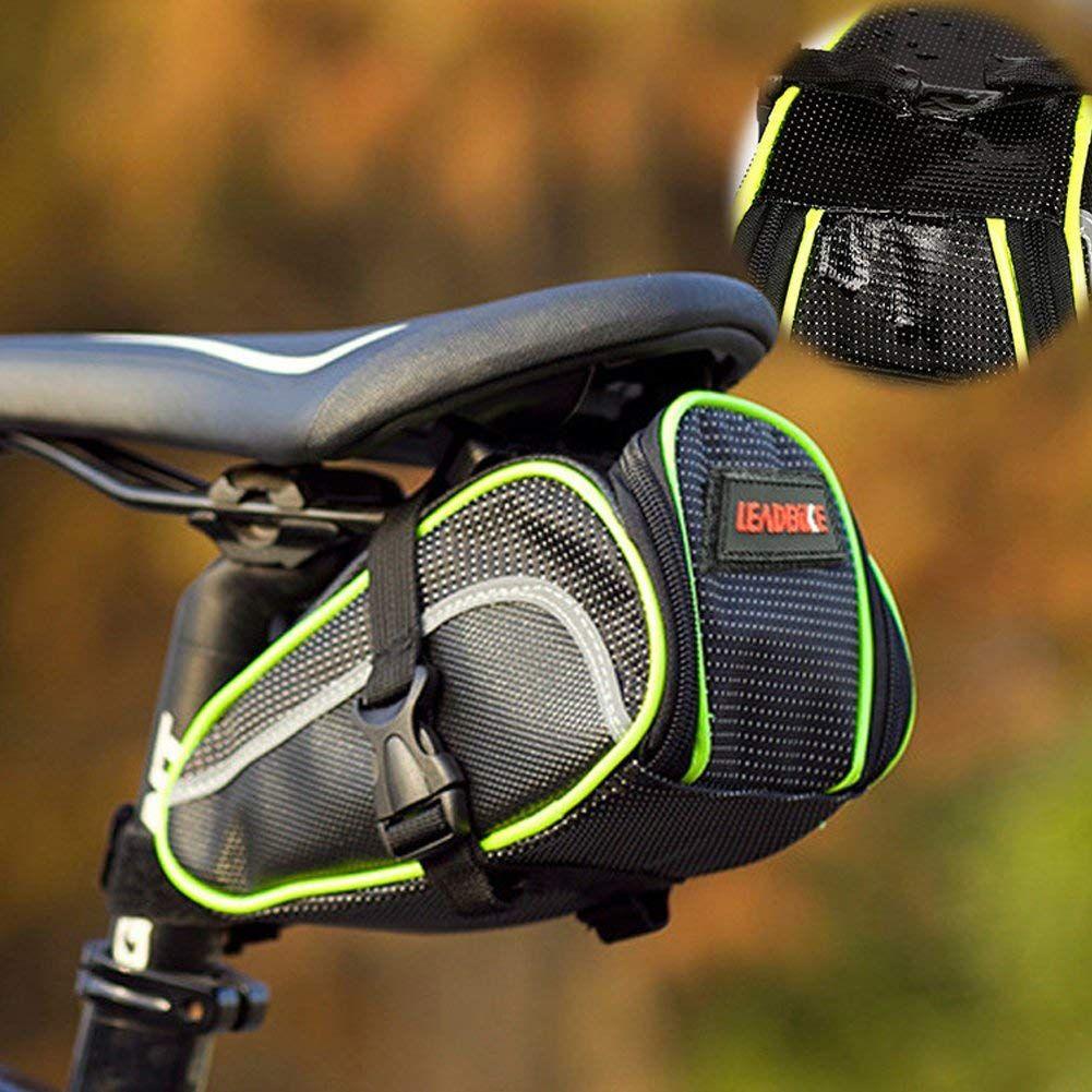 Eloiro For Bicycle Road Bike Mtb Cycling Saddle Bag