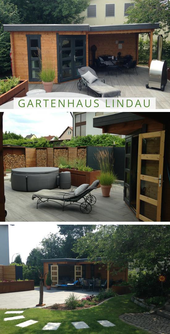 5 Eck Gartenhaus Lindau 40 Mit Anbau Gartenhaus 5 Eck Gartenhaus Anbau Gartenhaus