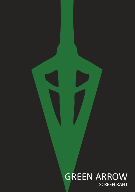 Green arrow minimal movie poster by anthony ocasio for Minimal art hero
