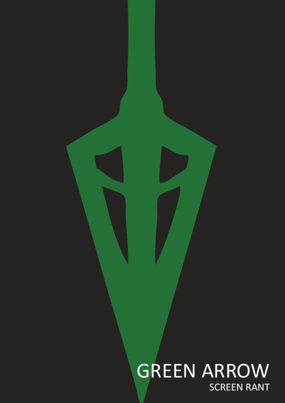 green arrow minimal movie poster by anthony ocasio