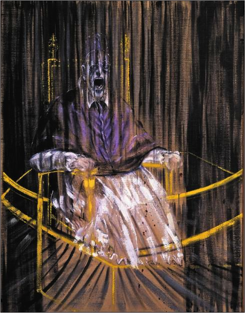 Francis Bacon Screaming Pope