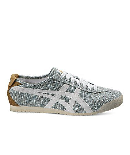 Mexico 66, Baskets Femme, Blanc (White/White 0101), 39 EUAsics