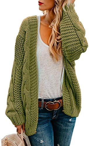 Best Seller Marysay Womens Open Front Sweaters Long Sleeve Chunky Warm Knitted Cardigans online - Lovechicclothing