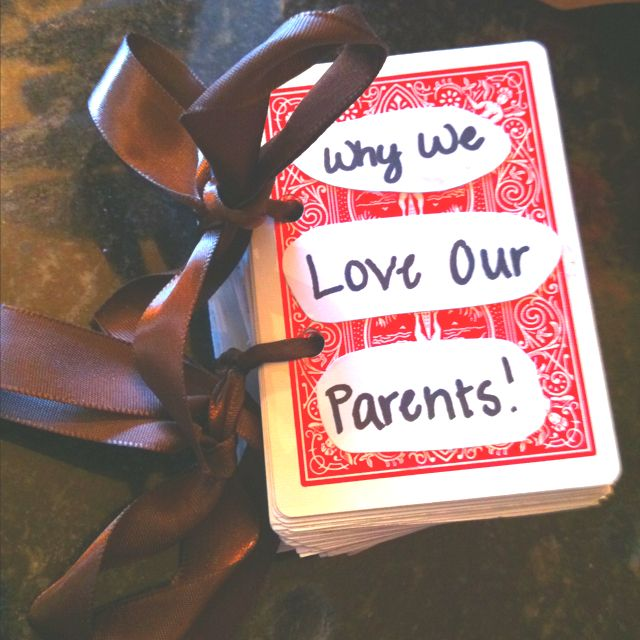 Parents Gifts Wedding: Cool Anniversary Gift Idea For Parents From Kids: Buy A