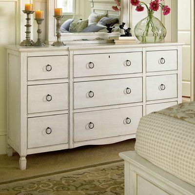 Universal Furniture Summer Hill 9 Drawer Dresser & Reviews | Wayfair