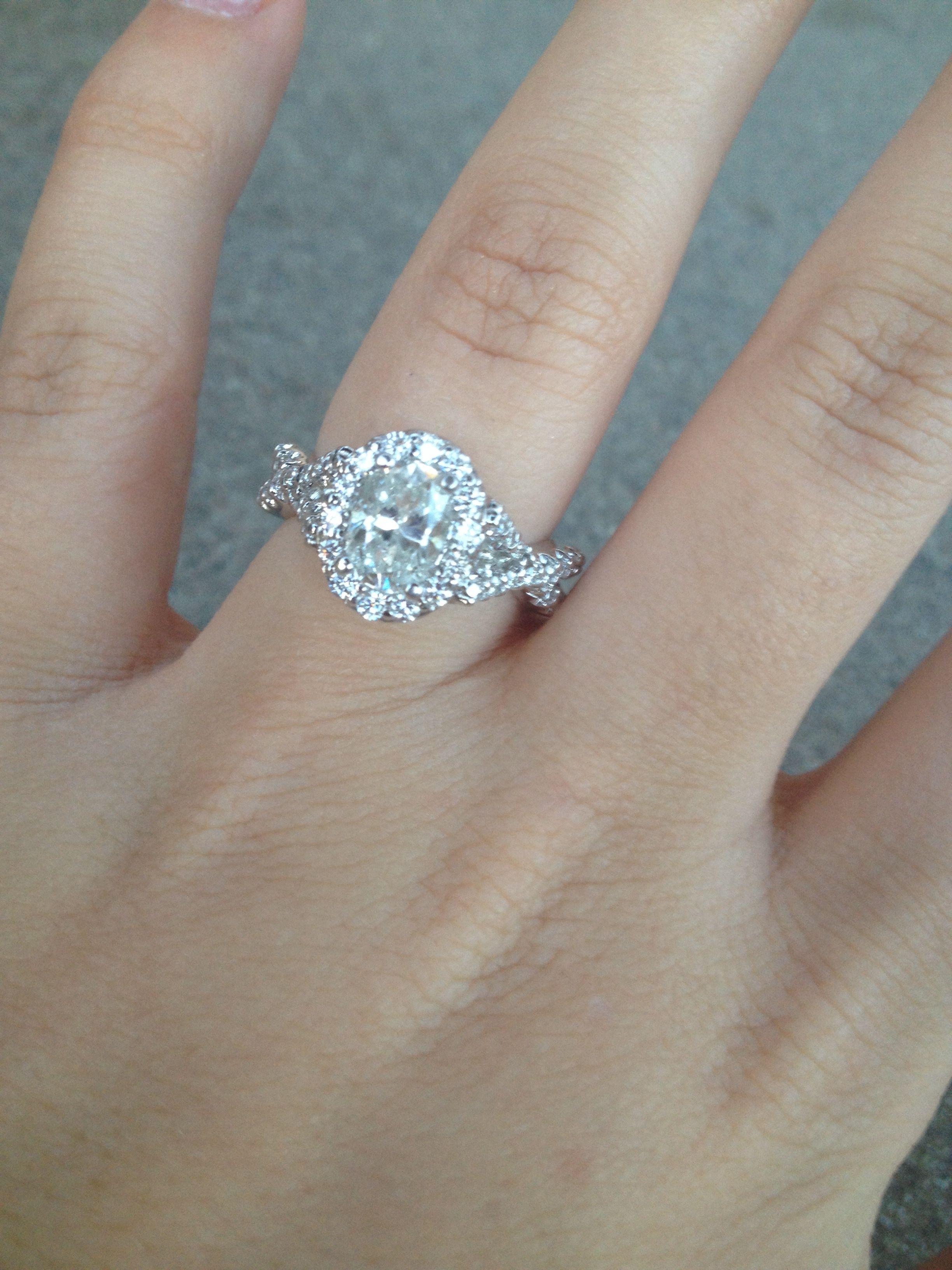 Engagement Ring Custom Design By Bride Jeff White Designs