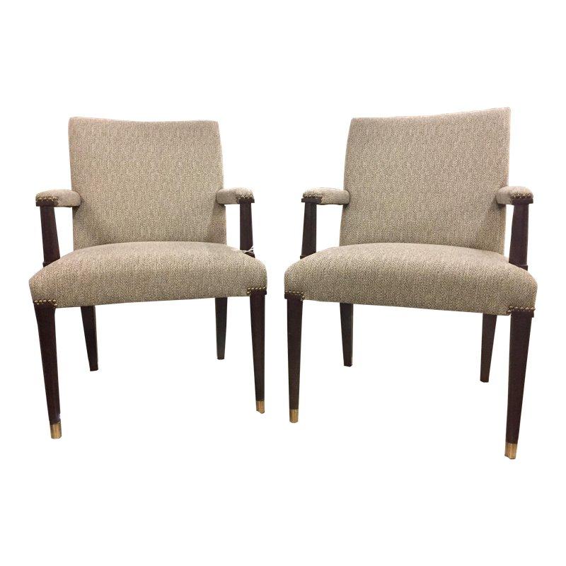 21st Century Ferguson Copeland Arm Chairs A Pair Chair