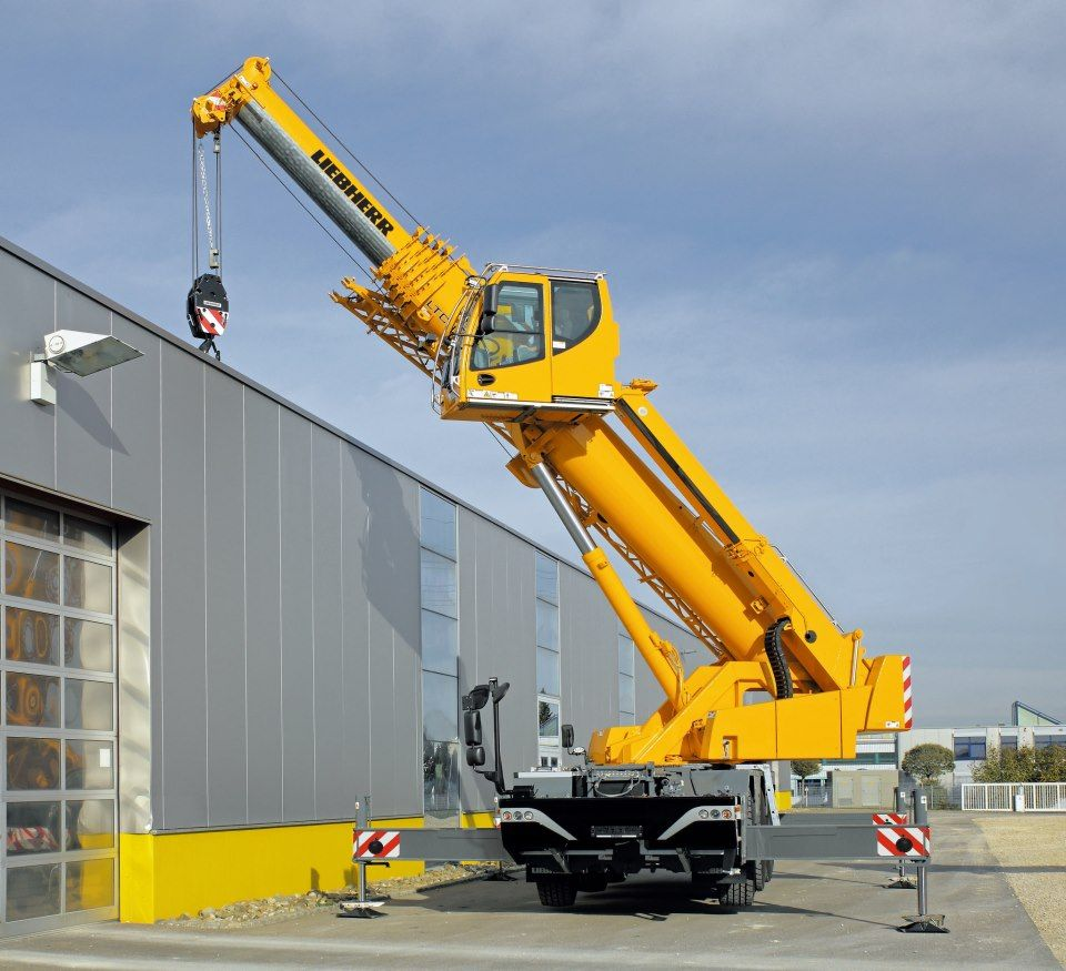 compact crane LTC 1045-3 1 Liebherr | equipment | Crane construction