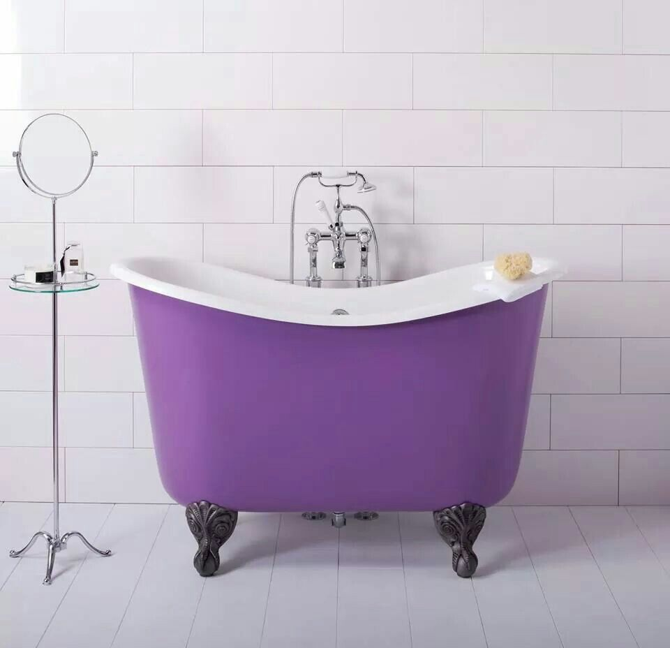 Interior Envy: 22 Clawfoot Tubs We Love | Tubs, Passion and Violets