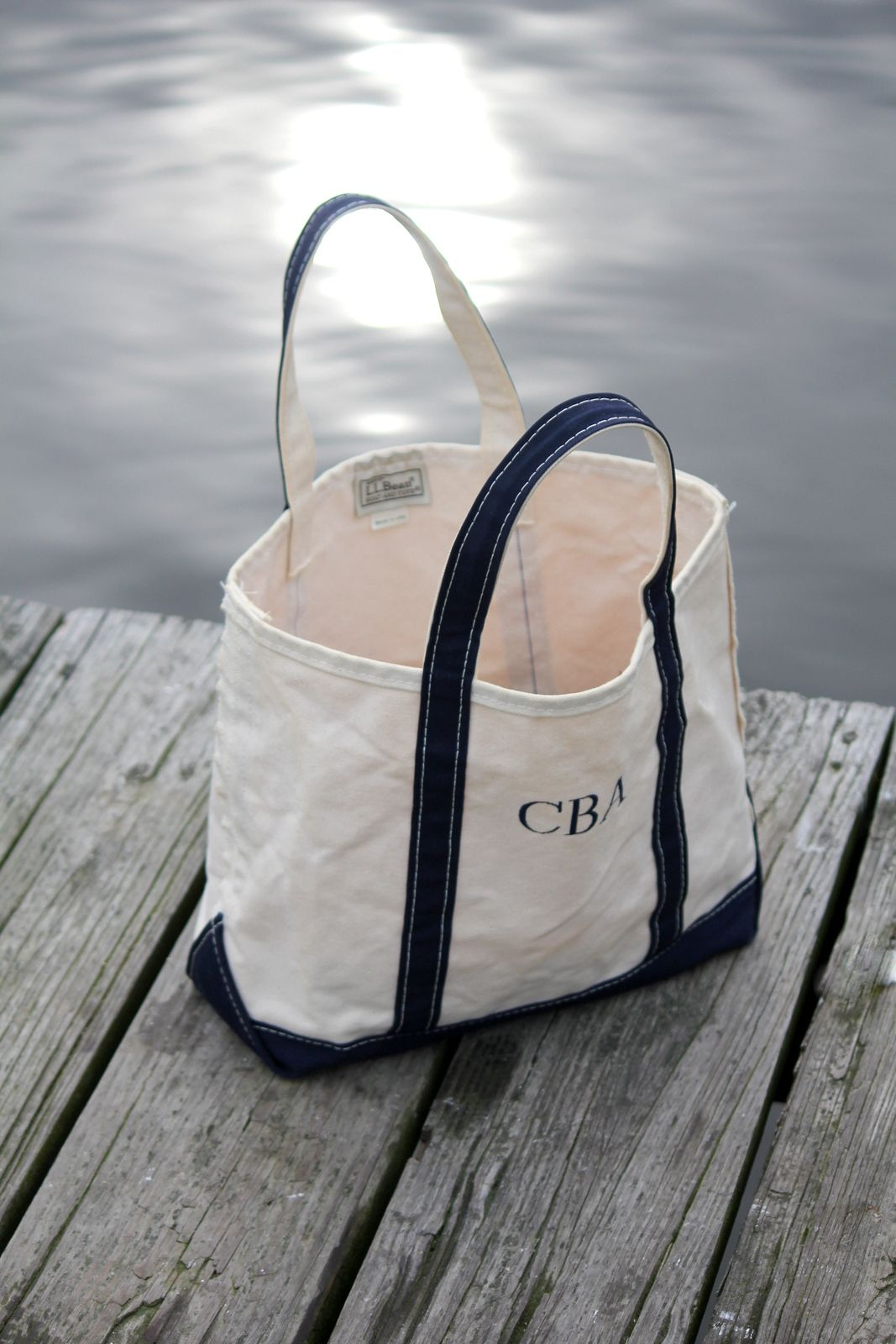 Incredible The L L Bean Boat And Tote Bag Nautical Tote Bags Canvas Cjindustries Chair Design For Home Cjindustriesco