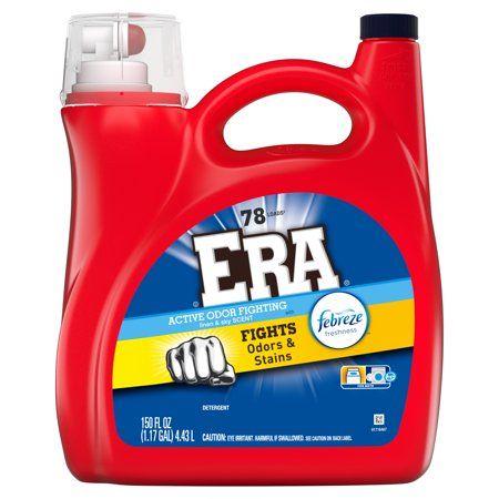 Era Active Odor Fighting Liquid Laundry Detergent With Febreze
