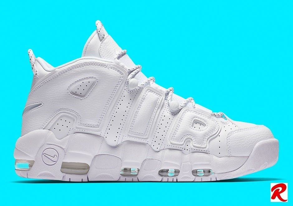 online store aa599 ec74f Nike Air More Uptempo Triple White The Nike Air More Uptempo from 1996 will  join to Nike s Triple-White party for