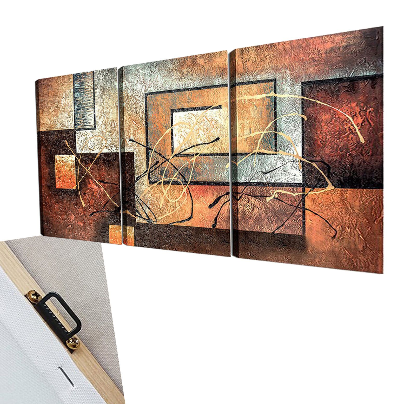 panels wall art framed canvas home decor abstract painting modern