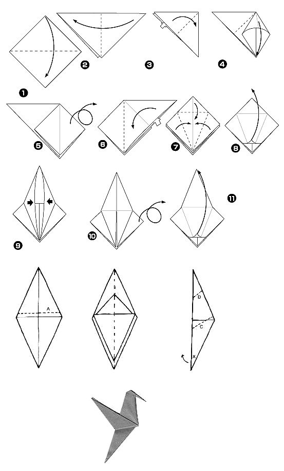 Quick and Easy Instructions to Master the Origami Bird | 918x553
