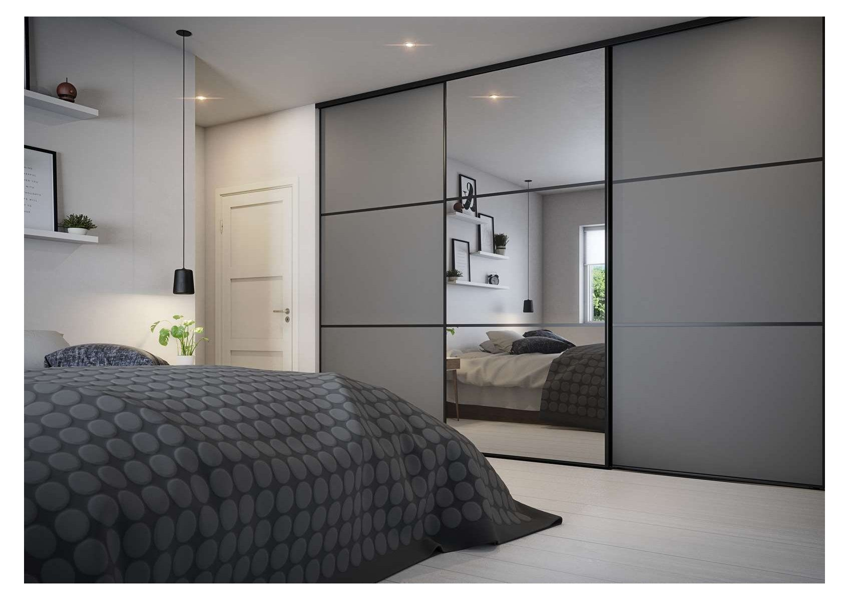 Luxury Crittall Style Wardrobe Grey Bedroom Wardrobe Greybedroomwardrobe Wardrobe Design Bedroom Sliding Door Wardrobe Designs Grey Bedroom Decor