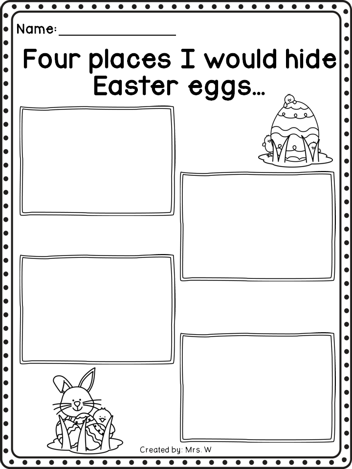 Easter | Writing prompts, Prompts and Literacy