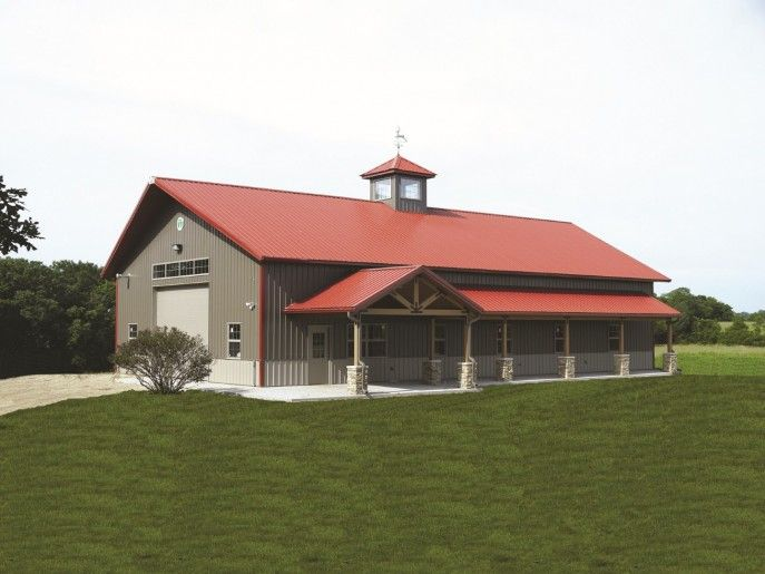 Ideas modern grey nuance of the wooden pole barn kits for for Barn homes kits for sale