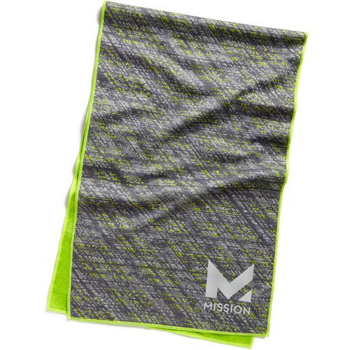 Mission Enduracool Instant Cooling Towel Green Bright 02 Fitness Accessories Hand Exercise Equipment At Academy Sports Towel Blue Towels Workout Accessories