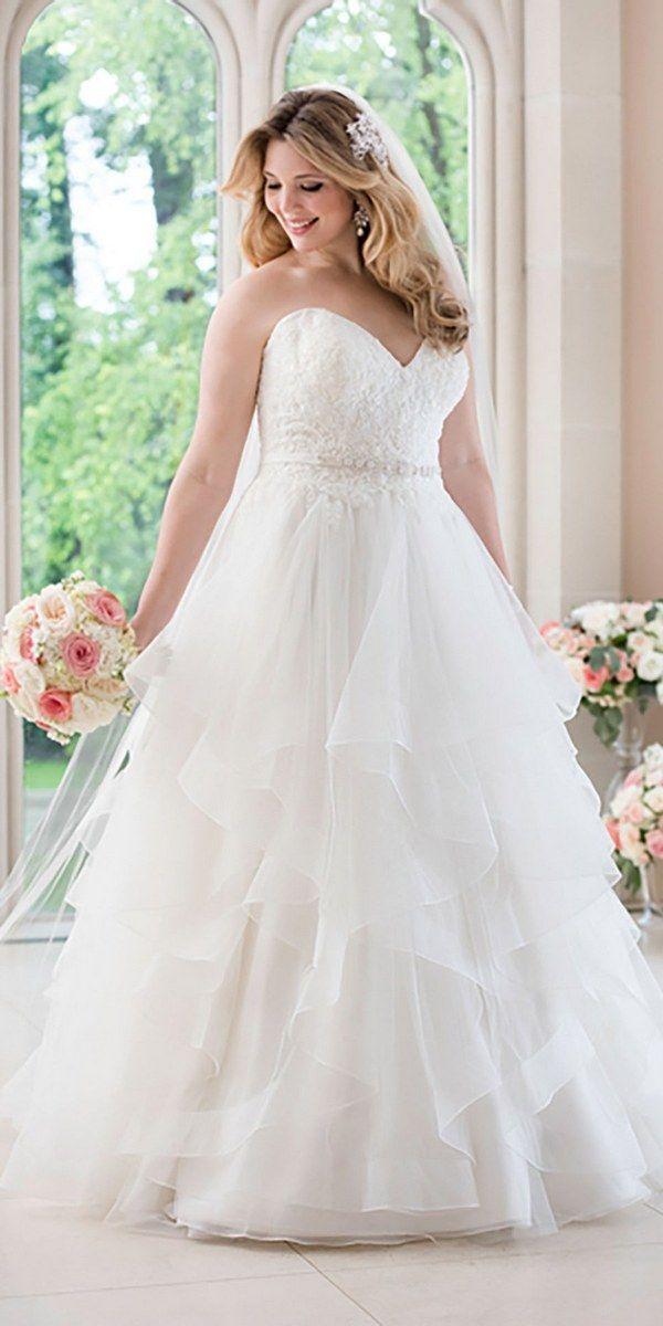 Stella york fall 2016 wedding dresses you ll love 2016 for Plus size fall wedding dresses