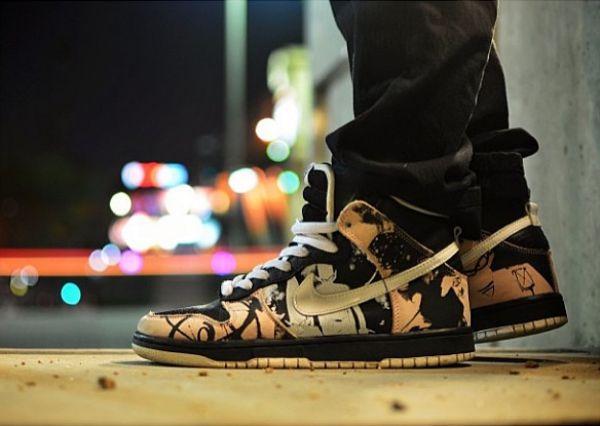 "Nike Dunk High Pro SB ""Unkle"