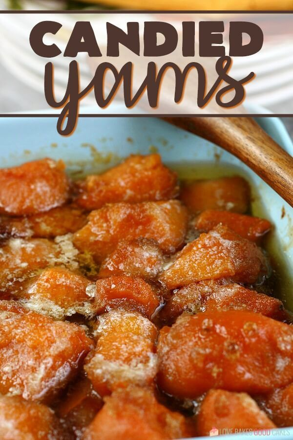 Candied Yams Recipe #candiedyams