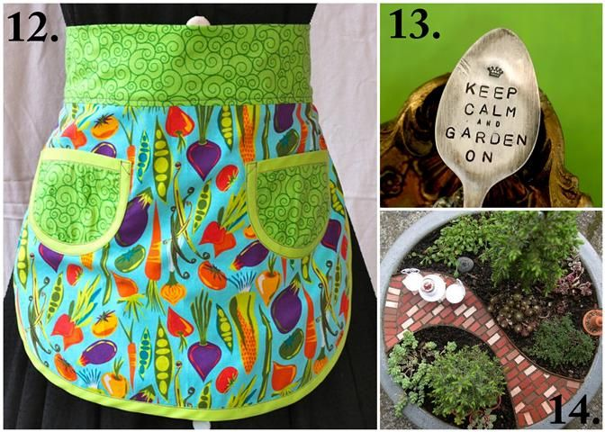 21 Handmade Mother\'s Day Gift Ideas for Garden-Loving Moms | Apron ...