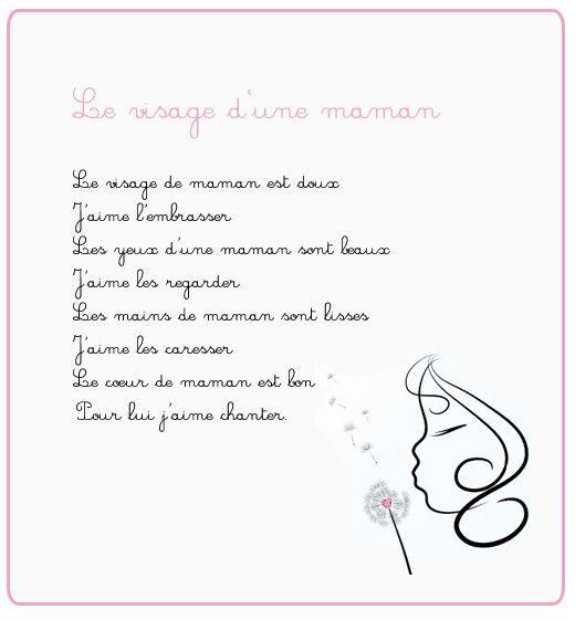 Afficher Limage Dorigine Poème Fête Des Mères Poeme