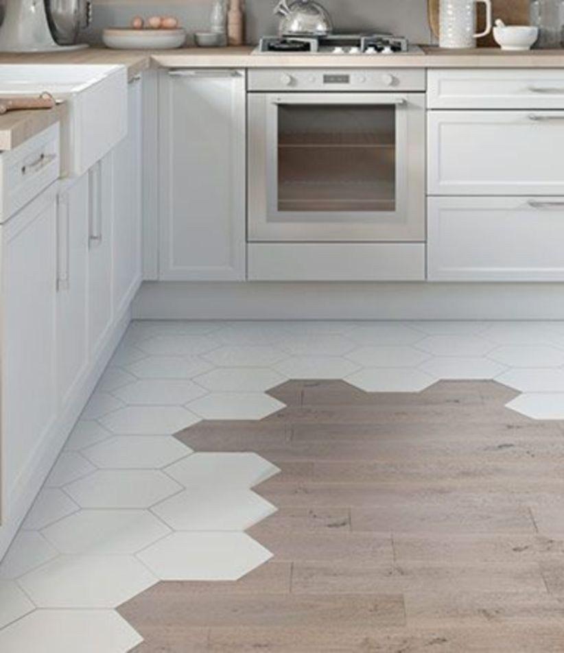 26+ Hex tile kitchen floor trends