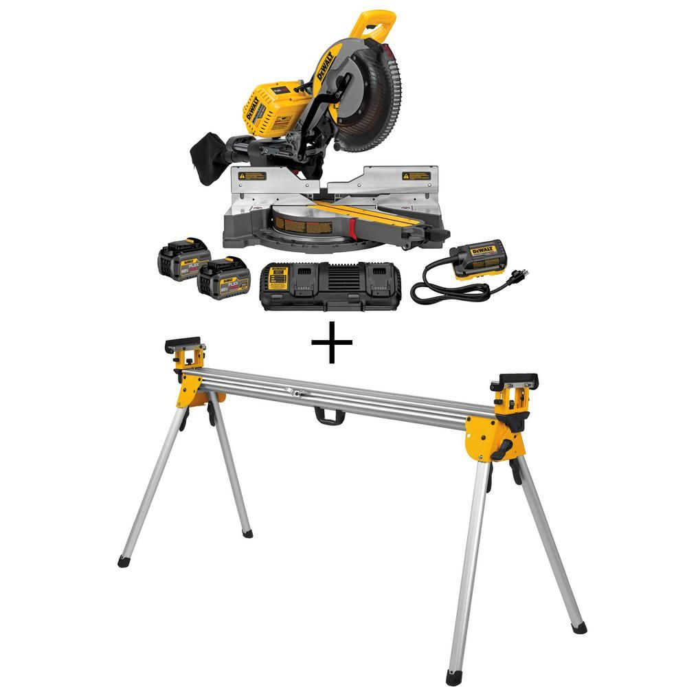 DEWALT Flexvolt 120-Volt MAX Lithium-Ion Cordless 12 in. Double ...