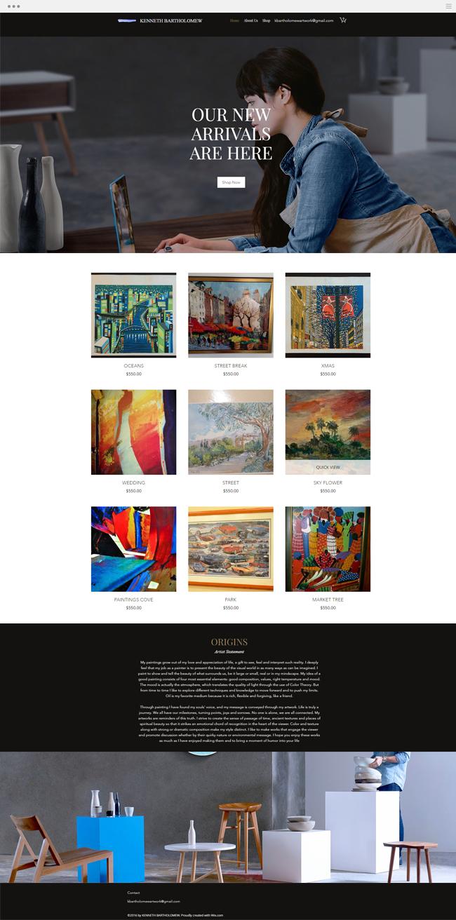 Kenneth Bartholomew | Artist and Painter | Artist Online store ...