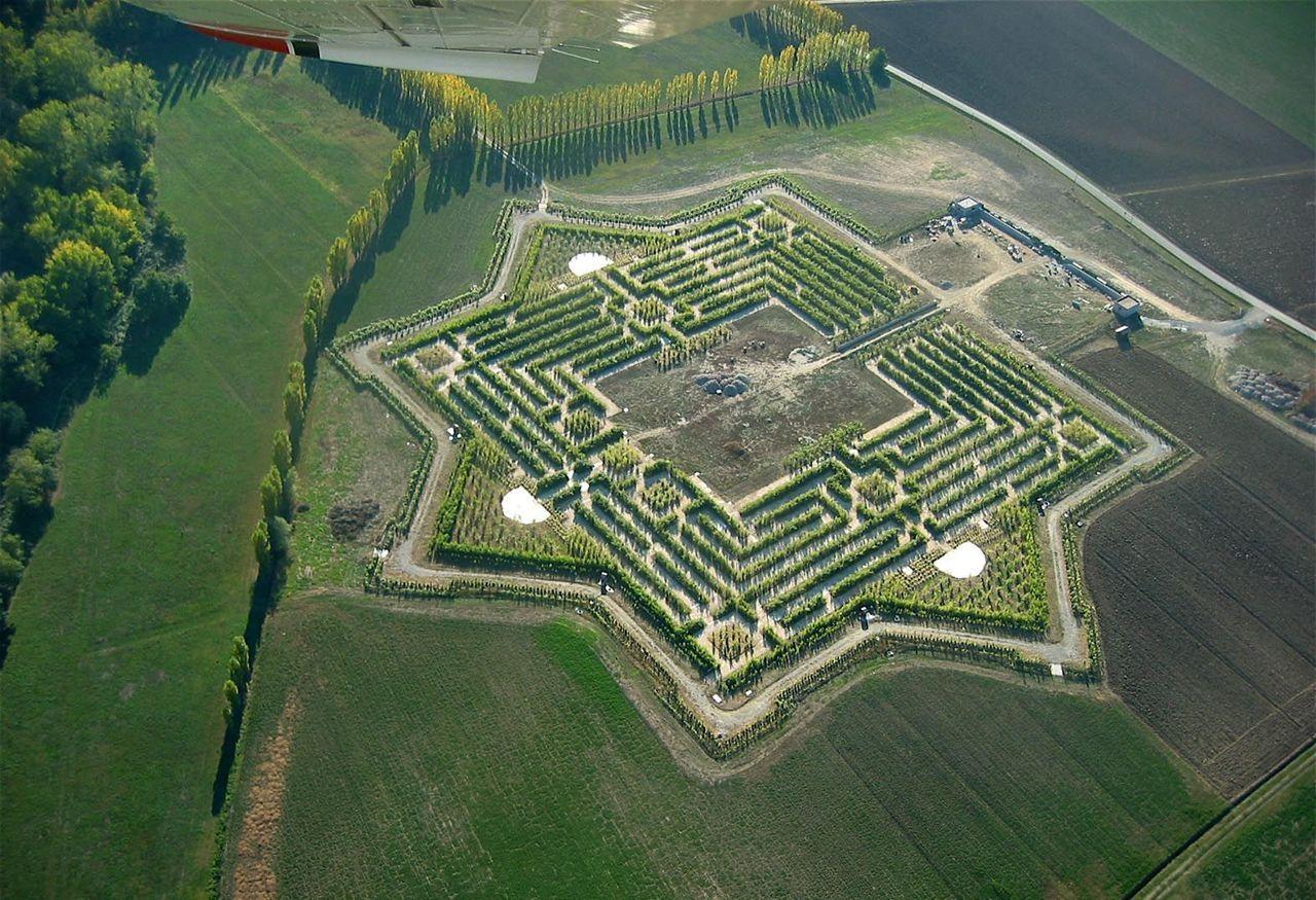 Labirinto di Franco Maria Ricci ; Fontanellato (PR)