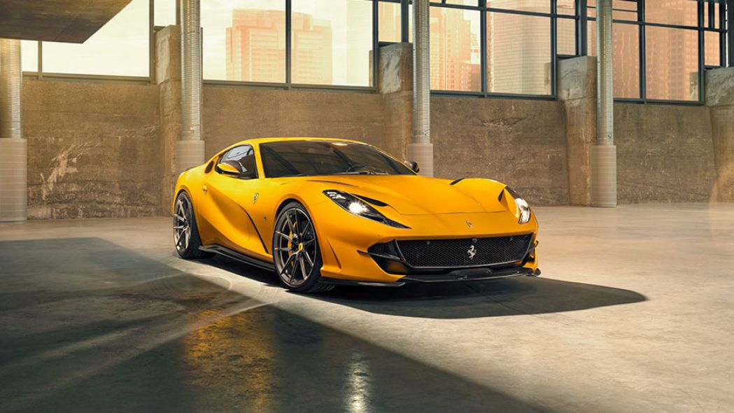 Novitec Ferrari 812 Superfast Makes Its Debut With Images Car