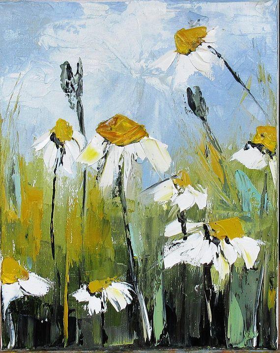 un echo de parfum peinture figurative a l huile au fleurs abstraites peinture fleurs peinture