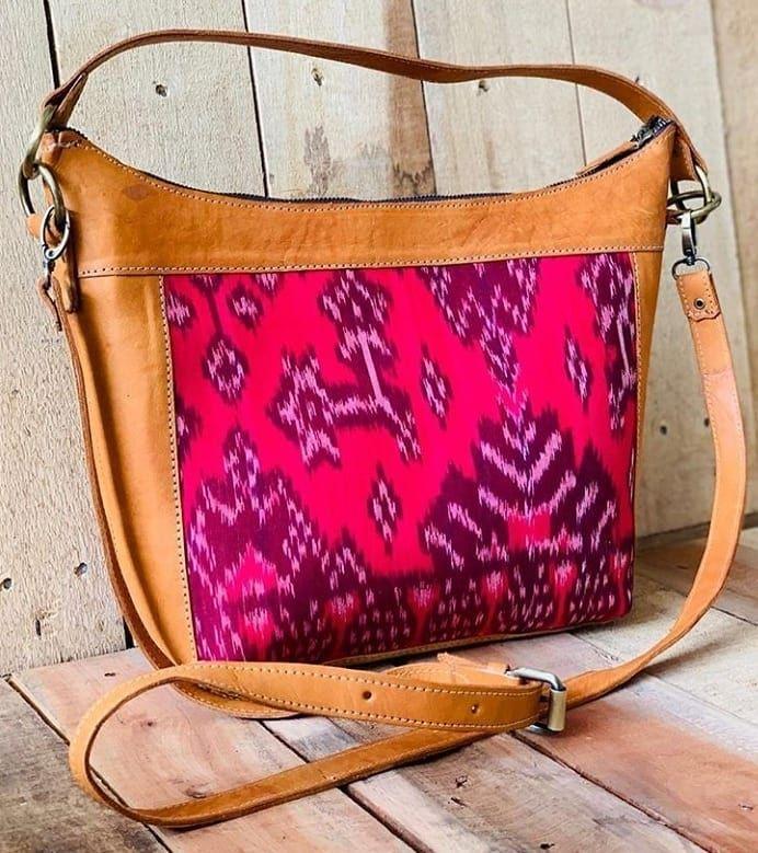 Tas motif kain songket handmade handycrafts craft