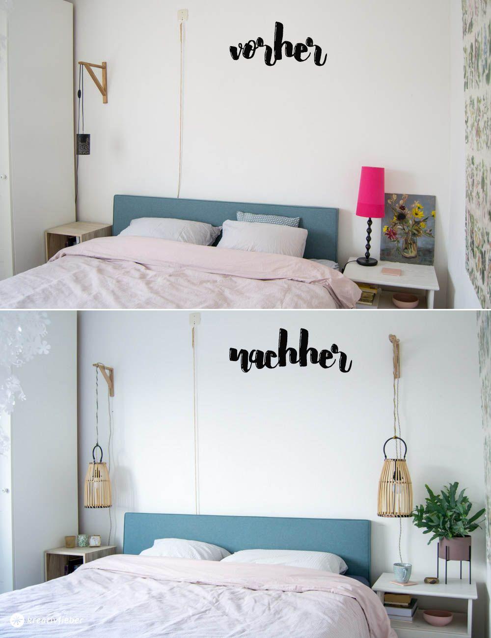 Schlafzimmer Lampe Diy Diy Hssngelampe