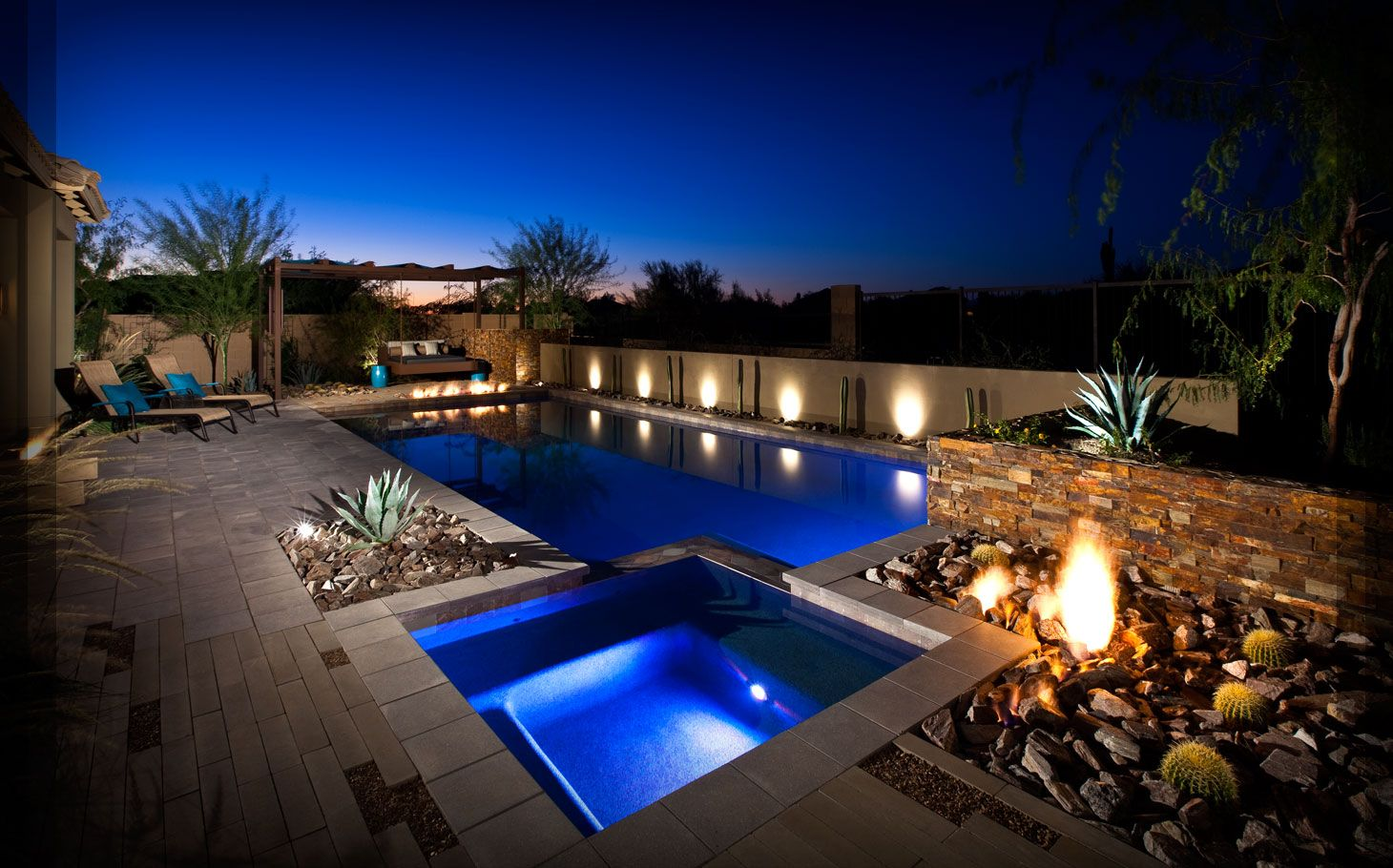 Ahwatukee Landscaping Case Study Backyard Landscaping Backyard