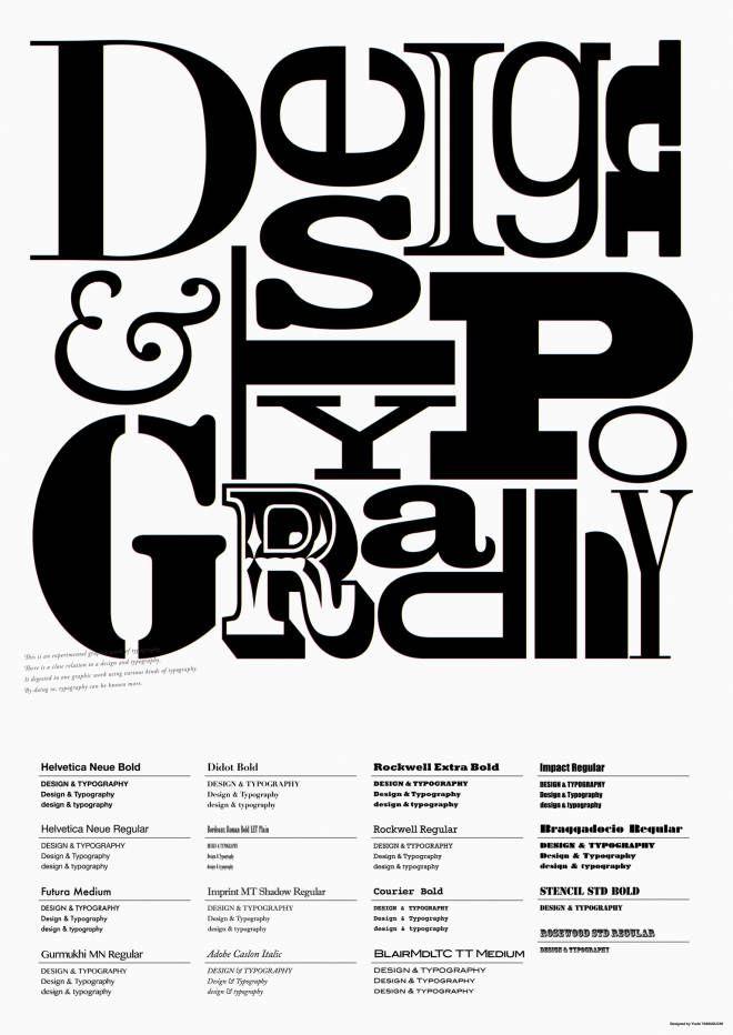 DESIGN&TYPOGRAPHY