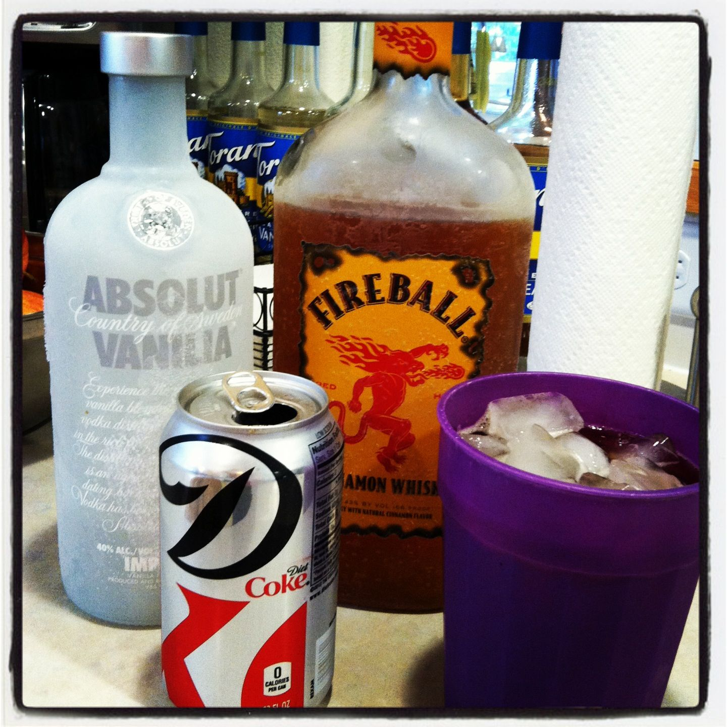 how to make a fireball drink