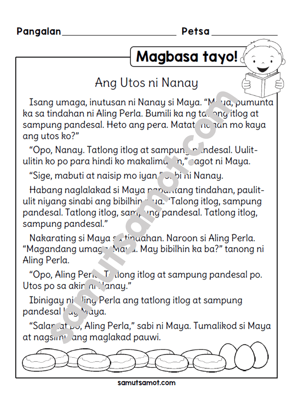hight resolution of Pin by Kath Sanoy on inah   Reading comprehension for kids