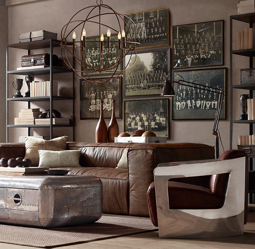 vintage industrial decor - 800×780