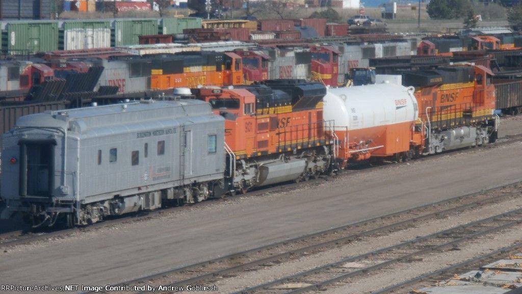 Bnsf 5815 933501 9131 83 model trains model