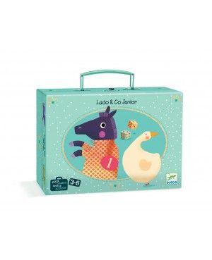 Gezelschapsspel Ludo & Co Junior 3+ - Djeco