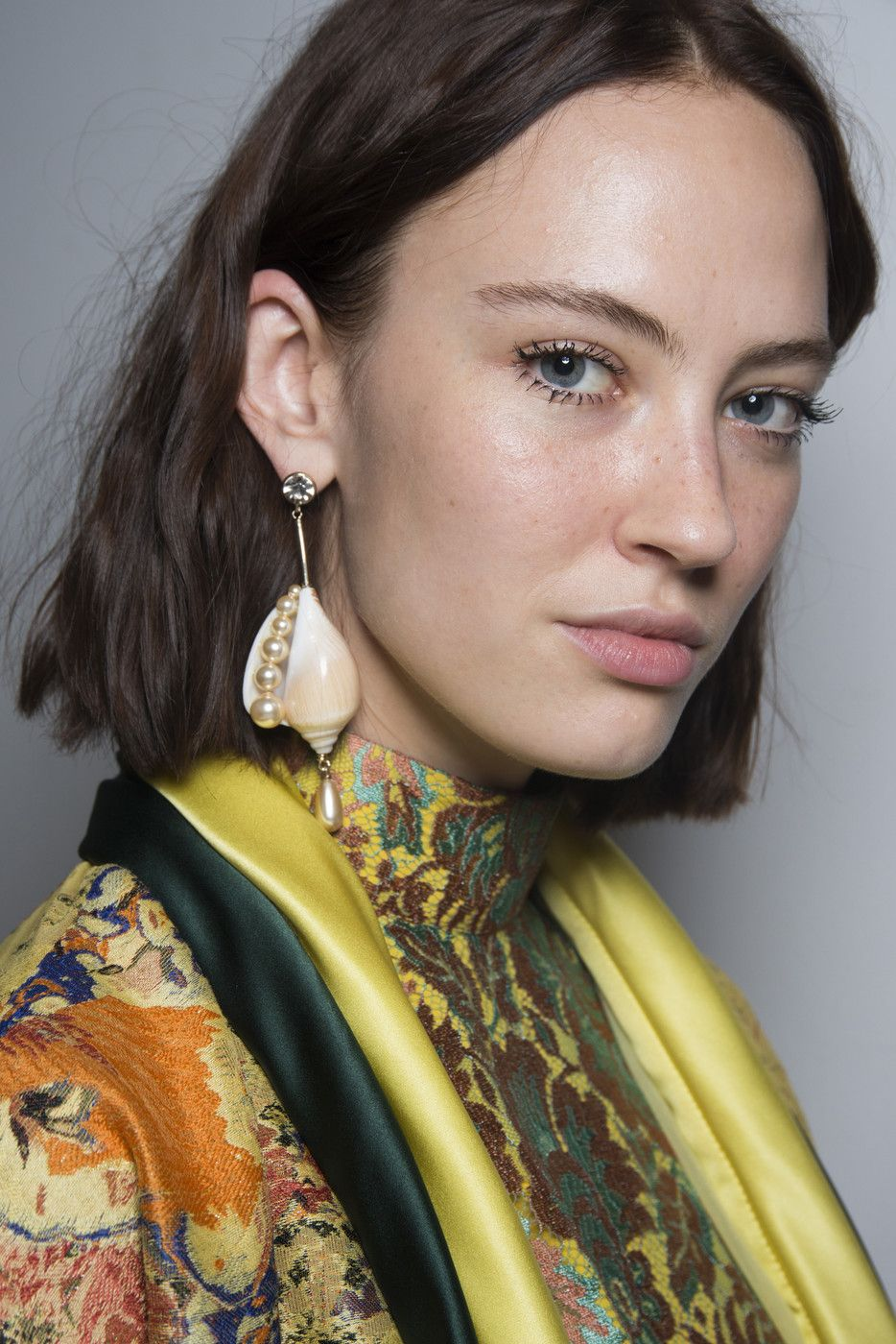 Etro At Milan Fashion Week Spring 2019 Earring Trends Jewelry