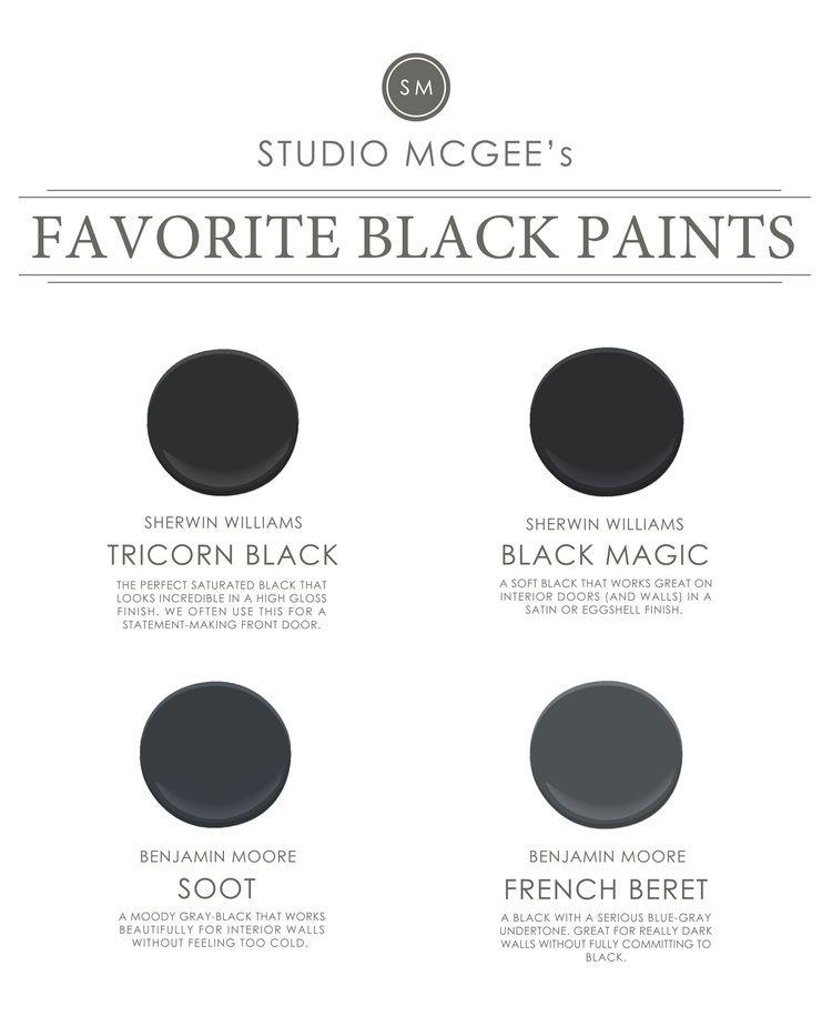 ask studio mcgee our favorite black paints studio mcgee interior