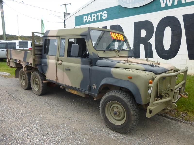 1991 Land Rover 110 Perentie 6x6 Crew Cab Very Rare For Sale Land Rover Land Rover Defender Army Vehicles