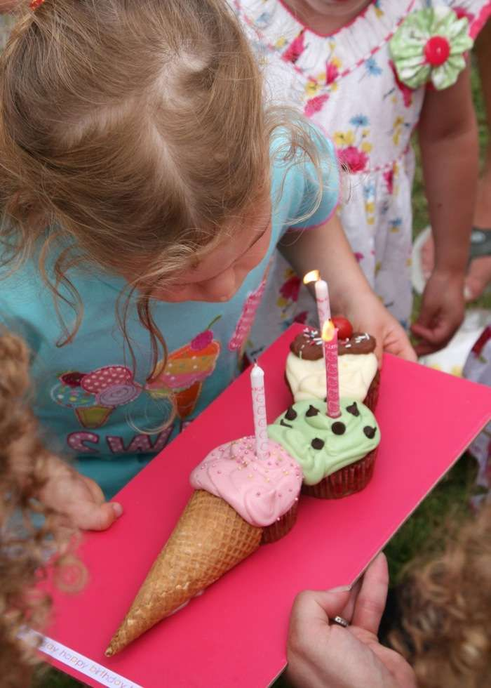 Ice Cream Party Birthday Party Ideas   Photo 3 of 12   Catch My Party