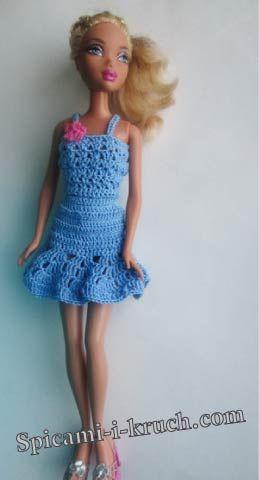 met patroontje | barbies | Pinterest | Crochet gratis, Patrón de ...