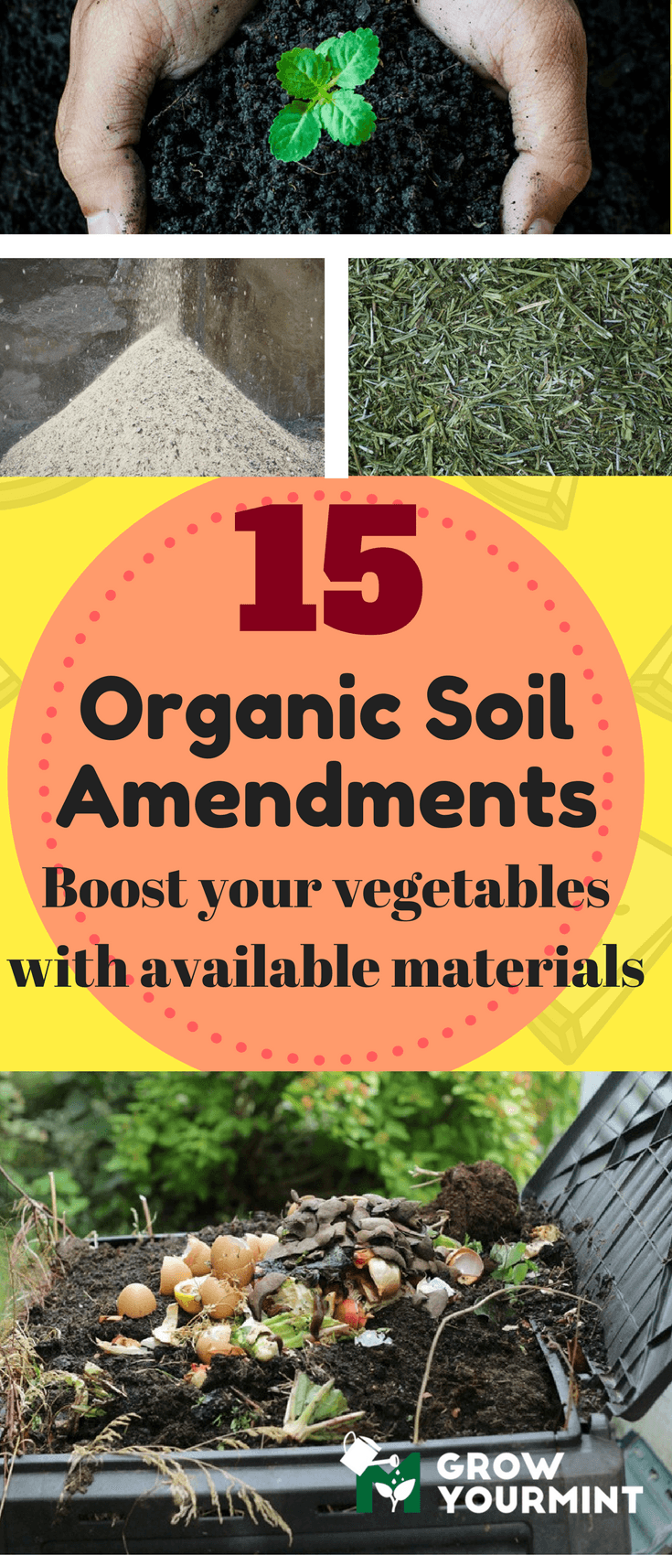 15 Organic Soil Amendments For Organic Gardening You Must Use To Boost Your  Vegetables
